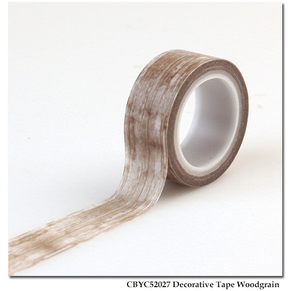 Carta Bella - Yacht Club - Decorative Tape Woodgrain