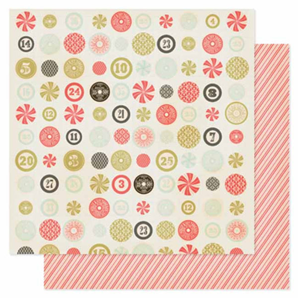 Pink Paislee - City Sidewalks - Candy Shoppe Paper
