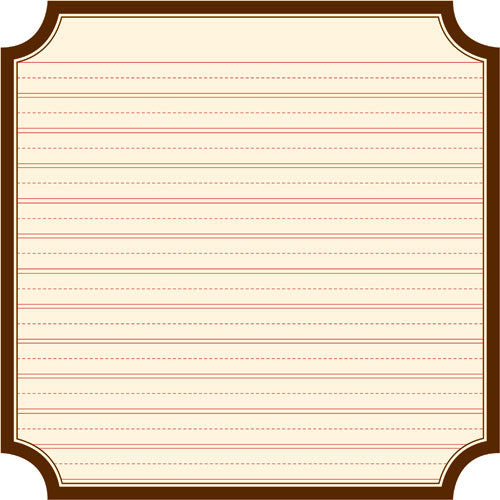 Jenni Bowlin Paper Collection - Kindergarten - Kindergarten Die Cut Label Paper