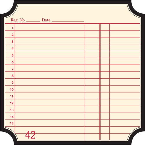 Jenni Bowlin Paper Collection - Classic Die Cut - Label Paper Receipt