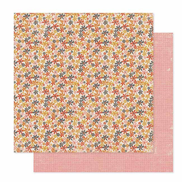 Pink Paislee - Cottage Farms - Bushel Paper