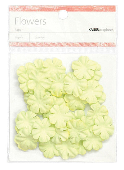 Kaiser Craft - Flowers Lime Small