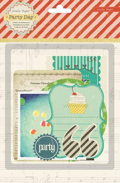 Crate Paper - Party Day - Ephemera Pack