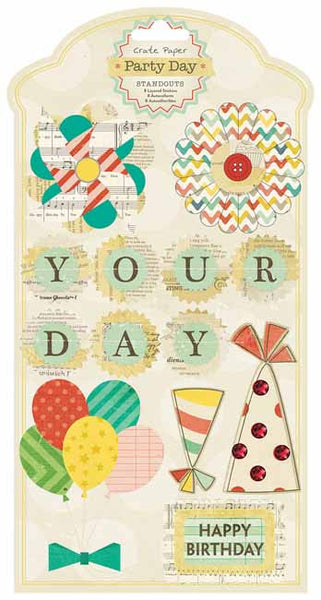 Crate Paper - Party Day - Standout stickers