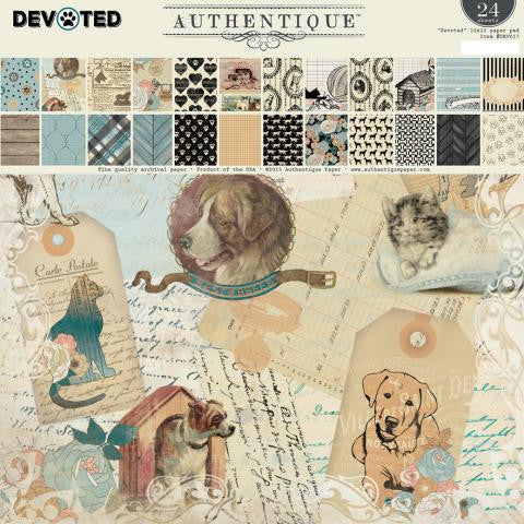 Authentique - Devoted Paper Pad 12x12