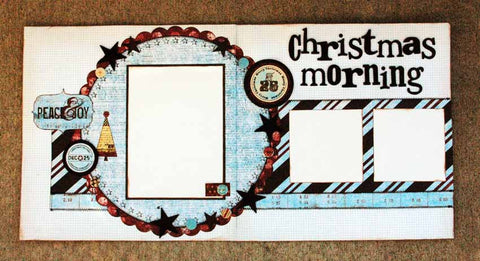 Dee Walker - Christmas Morning Layout Kit