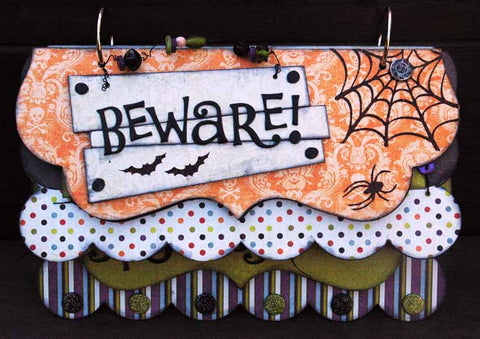 Beware Mini Album Kit - Dee Walker