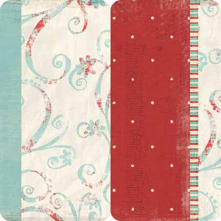 Dream Street Papers - Delight - Rectangle Cardstock Stickers