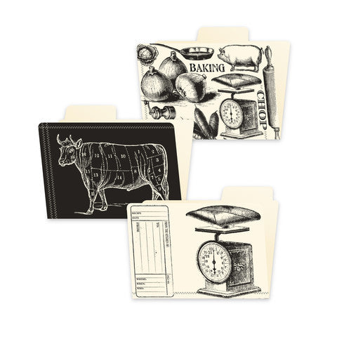 Canvas Corp Papers - Farmhouse Kitchen - File Folders