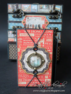 CityScapes Box with Albums Kit - Alexandra Morein