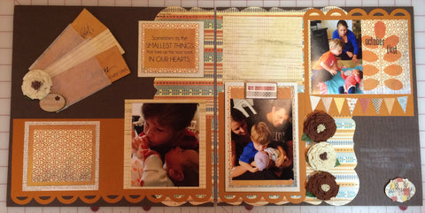 Blessed Page Layout Kit - Pam Ruth