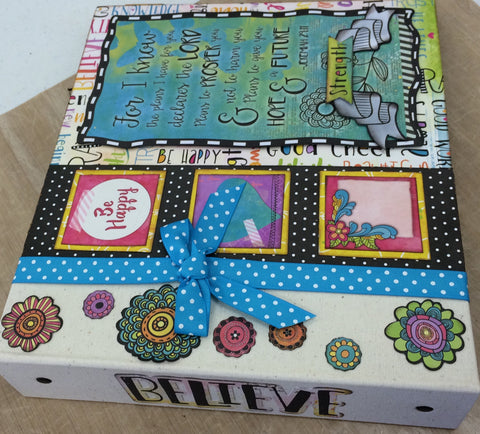 Bo Bunny Press -Believe - Journal Kit