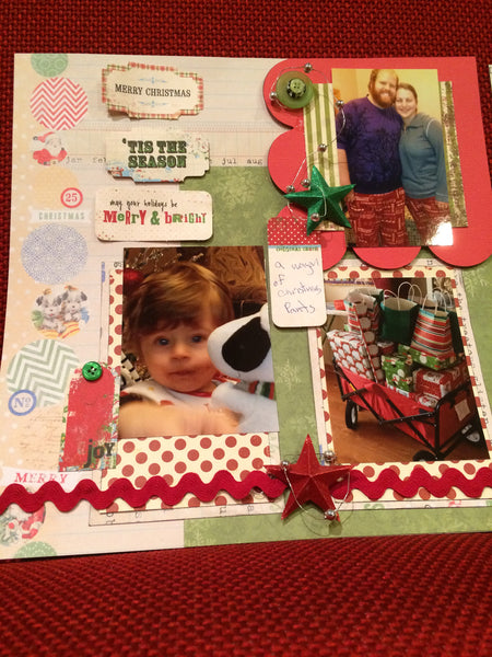 Merry and Bright Layout Kit - Pam Ruth