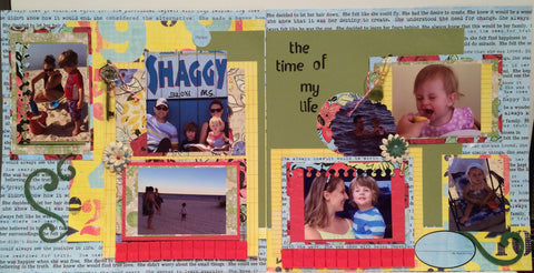 Fun Time  - Pam Ruth layout kit