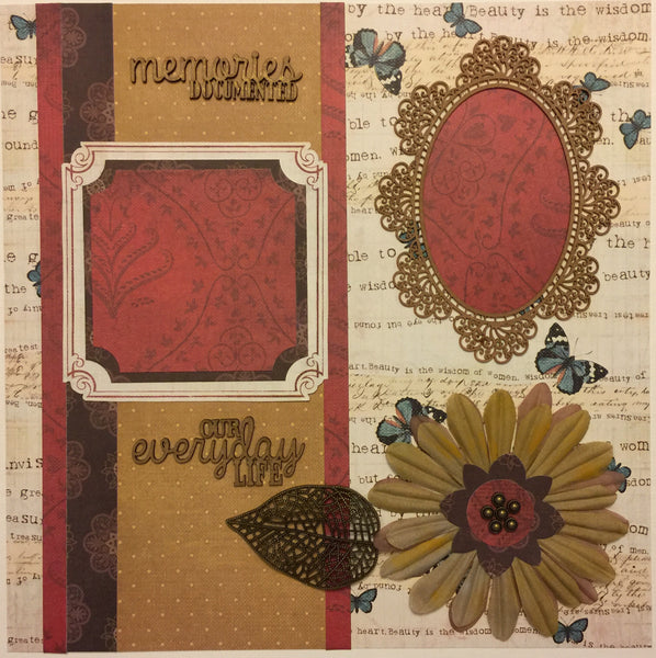 Life is Beautiful Layout Kit - Becky Ayers