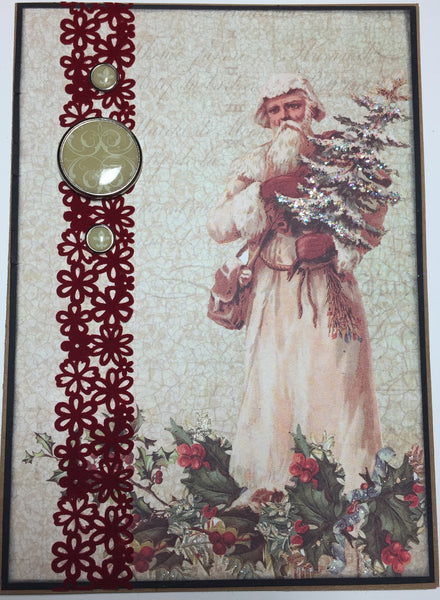 A Victorian Christmas Card Kit - Laurie Hable