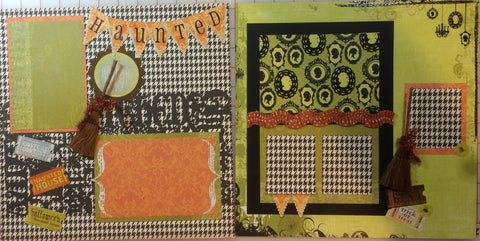 Haunted Layout Kit - Pam Ruth