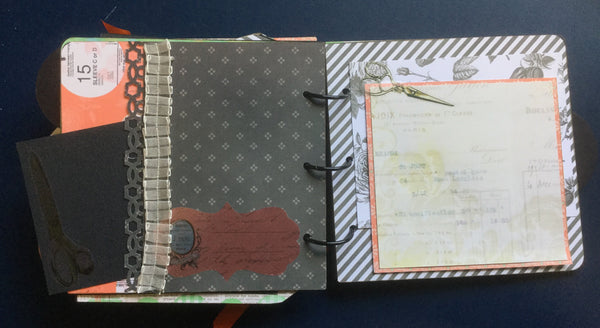 You are Sew Special Mini Album kit- Pam Ruth