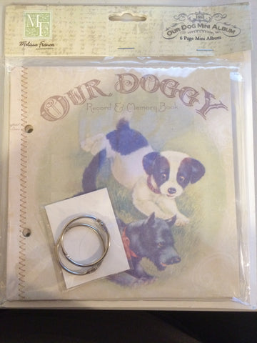 Melissa Frances Paper Collection - Dog - Dog Mini Album