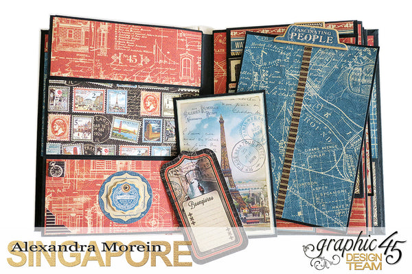 Let the Adventure begin Album Kit - Alexandra Morein