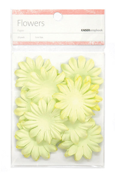 Kaiser Craft - Flowers Lime Large