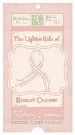 Melissa Frances - Breast Cancer Journaling Cards Book