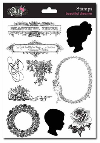 Glitz Design - Beautiful Dreamer Stamps