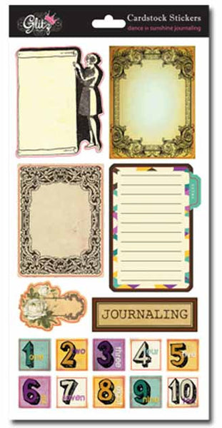 Glitz Design - Dance in Sunshine - Journal Stickers