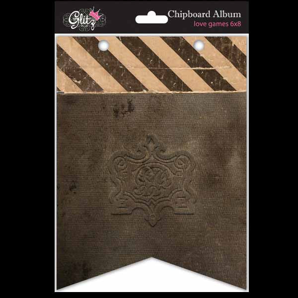 Glitz Design - Love Games - Chipboard Album