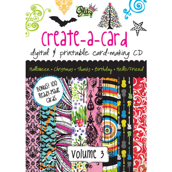 Glitz Design - Create A Card Vol 3