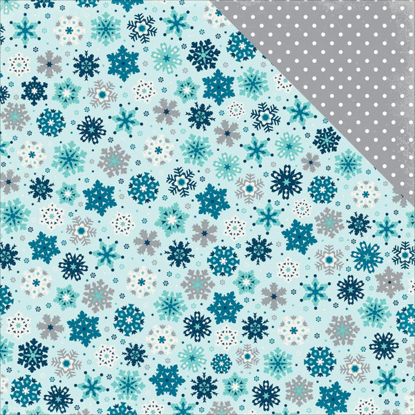 Hello Winter Paper - Snowfall