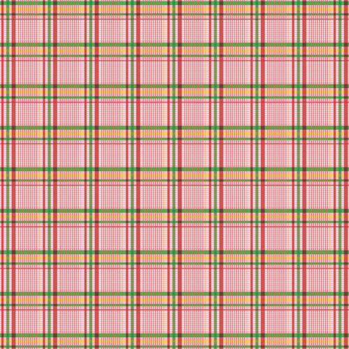 Jenni Bowlin Paper Collection - Homespun - Pretty Plaid Paper