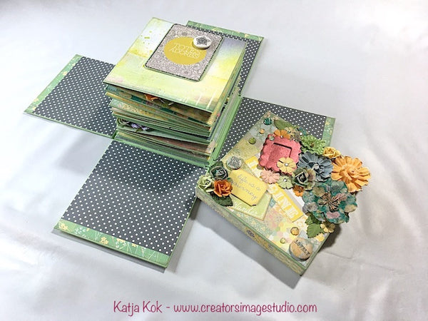 Hidden Treasures Explosion Box Album - Katja Kok
