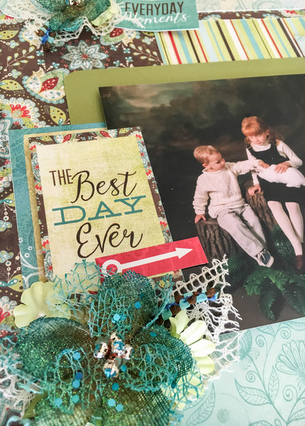 One of a Kind & Best Day Ever Layout Kit Set - Sheila Rumney