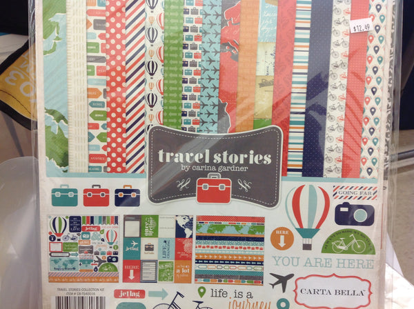 Echo Park Travel Stories Double-Sided Paper Collection