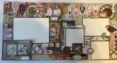 Bo Bunny - Dreamer Layout Kit - Marilyn Kennedy