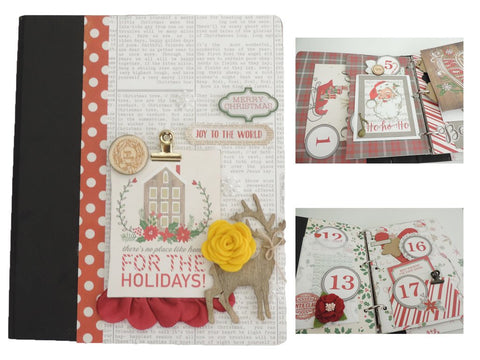 Christmas Countdown Album Kit - Maya Road