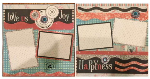 Love Us Layout Kit - Becky Ayers