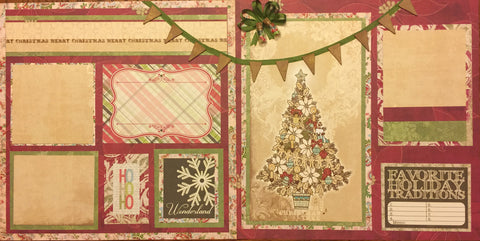 Christmas Decor Layout Kit - Becky Ayers