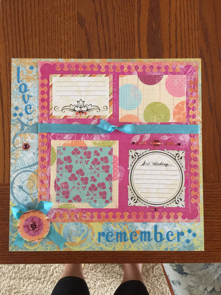 Remember Layout Kit - Becky Ayers