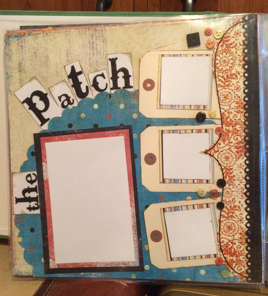 PAM  Autumn Layout Duo Kit - Vicki Boutin