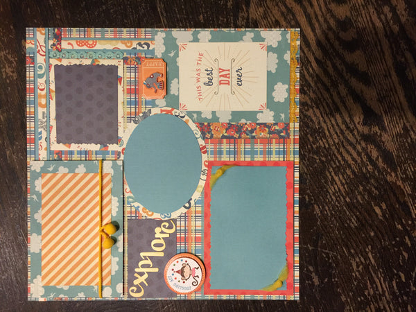 Best Day Ever Layout Kit - Becky Ayers