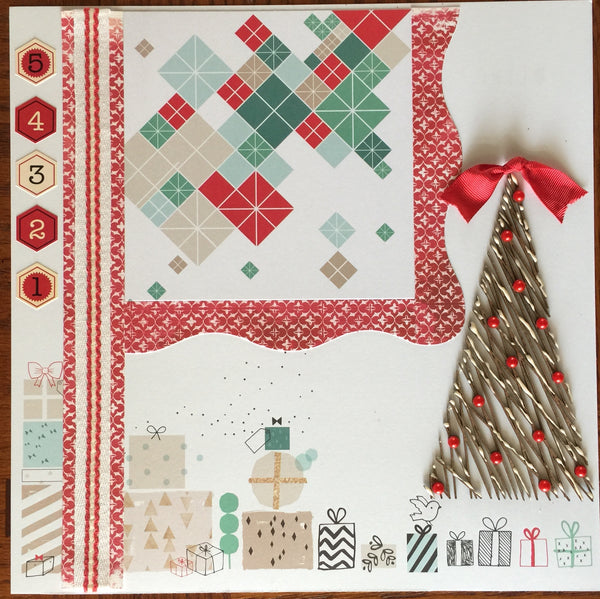 Countdown to Christmas Layout Kit - Becky Ayers