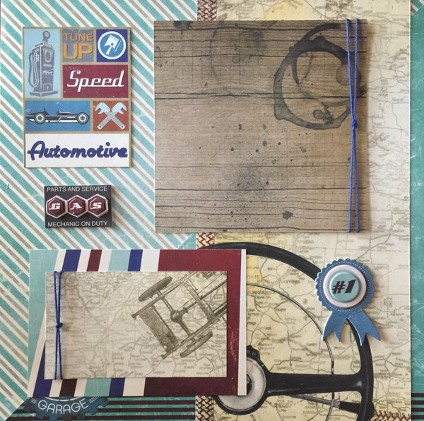 Awesome Automotive Layout kit - Becky Ayers