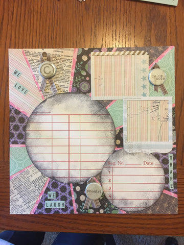 In Our Own Little Corner Layout kit - Becky Ayers