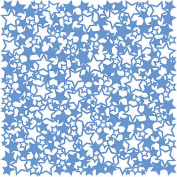 KI Memories Paper Collection - Lace Cardstock - Stars Boogie Board