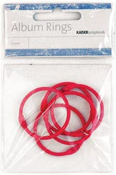 Kaiser Craft - Hot Pink Album Rings