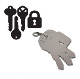 Maya Road - Key Chipboard Keychain