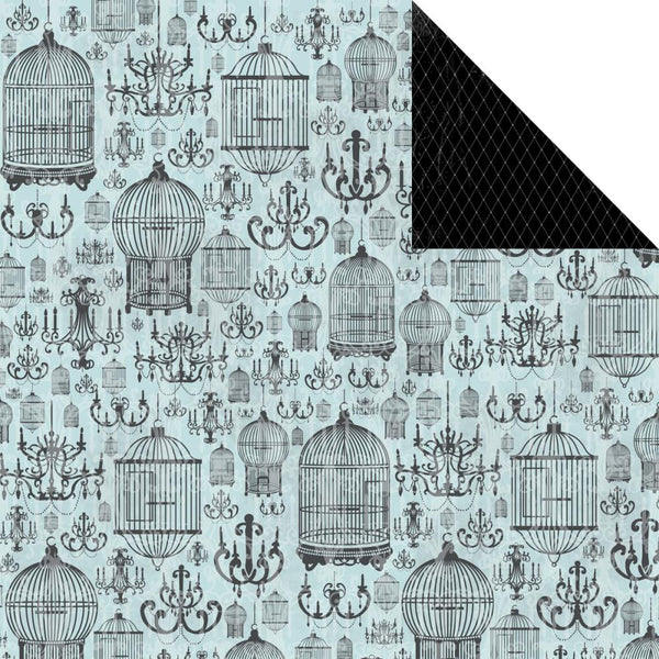 KAISERCRAFT-Le Chateau Double sided paper - Lustre