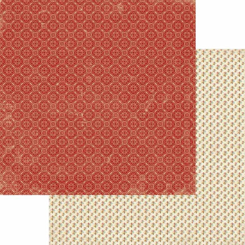 Lily Bee Designs Paper Collection - Autumn Spice - Cinnamon Paper